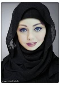 Photoshoppet Hijab